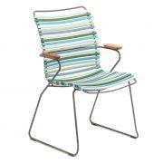 Krzesło CLICK wysokie z podłokietnikami, multicolor 2 84