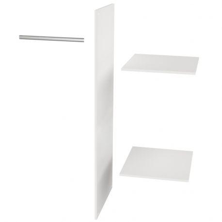 Półki dodatkowe do szafy CONNECT z szufladami - Woood