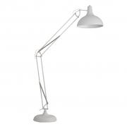 Lampa podłogowa OFFICE, biała - White Label Living