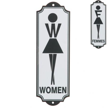 Tabliczka  TOILET WOMEN - J-Line