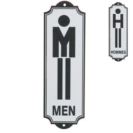 Tabliczka  TOILET MEN - J-Line
