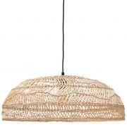Lampa wisząca rattanowa, naturalna - HK living