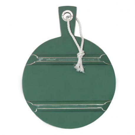 Deska do krojenia, zielona, okrągła, rozmiar S  - HK living