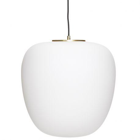 Lampa złota z kloszem - Hübsch