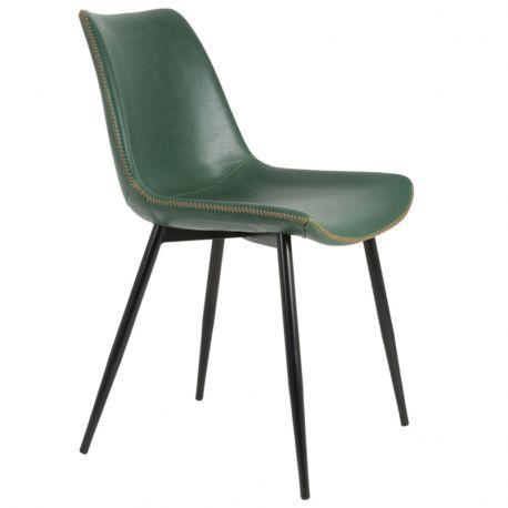 Krzesło KOVAC, zielone - Light & Living
