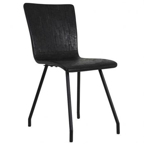 Krzesło FLORES, czarne - Light & Living