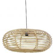 Lampa wisząca ANINDA, rattanowa duża - Light & Living