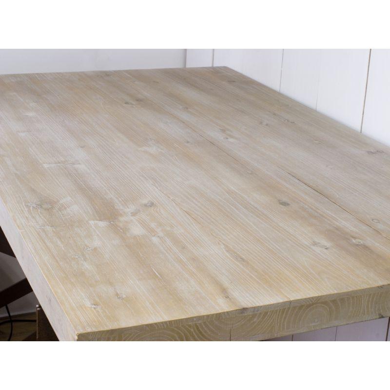 Stolik Drewniany Z Metalowymi Nogami Northsouth Home