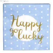 Serwetki papierowe niebieskie 20 sztuk HAPPY ....