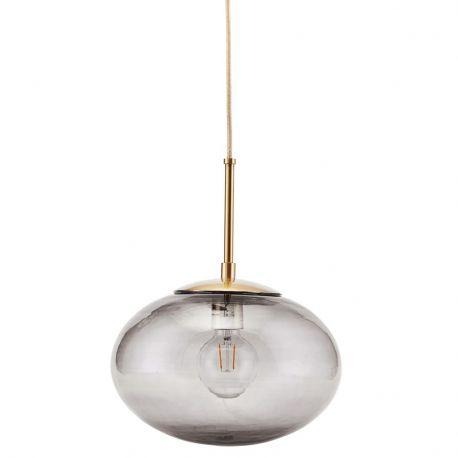 Lampa OPAL szary klosz 30 cm - House Doctor