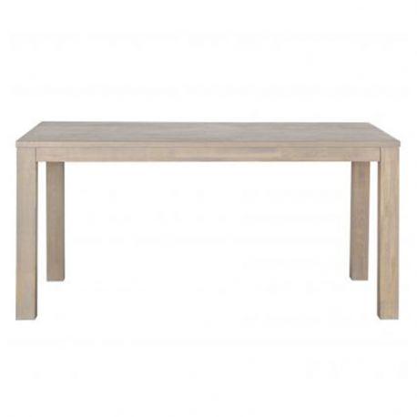 Stół dębowy LARGO 180x85 cm szary - Woood