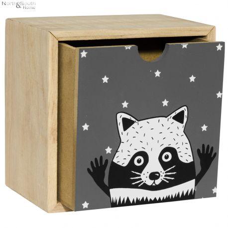 Pojemnik z szufladką  COOL wzór III
