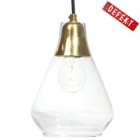 Lampa sufitowa ze szklanym kloszem, średnica 17 cm - Hübsch