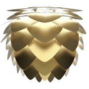 Abażur ALUVIA MEDIUM brushed brass - złota