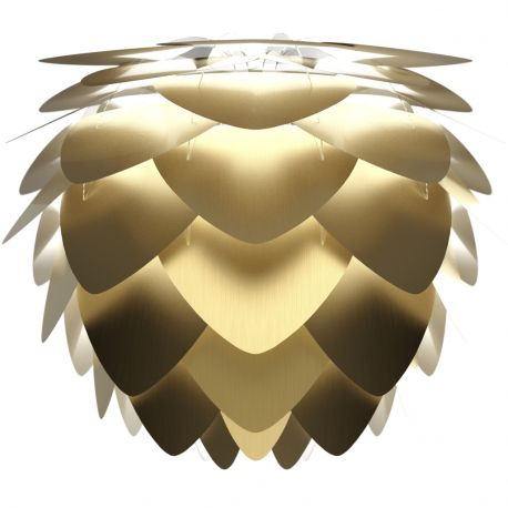 Abażur ALUVIA MEDIUM brushed brass - złota - UMAGE