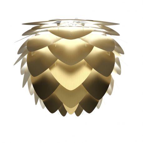 Abażur ALUVIA MINI brushed brass - złota - UMAGE
