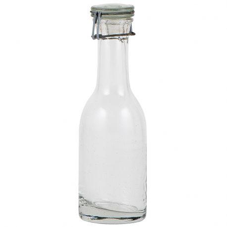 Butelka ze szkła z recyklingu ze szklanym korkiem - Ib Laursen