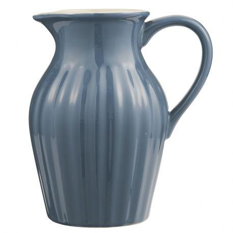 Dzbanek ceramiczny duży, granatowy - Ib Laursen