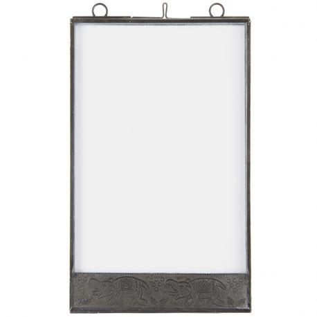 Ramka na zdjęcia wzór słoniki 10 x 15 cm - Ib Laursen