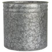Osłonka na doniczkę, metalowa śr. 25 cm
