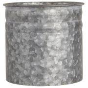 Osłonka na doniczkę, metalowa śr. 15 cm