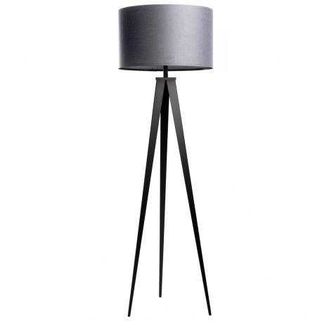 Lampa podłogowa TRIPOD szaro-czarna - Zuiver