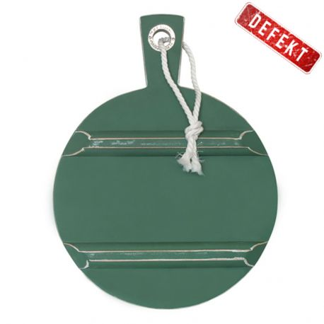 Deska do krojenia, okrągła, S zielona DEFEKT 4 - HK living