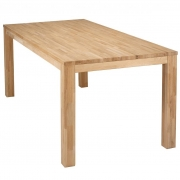 Stół LARGO, dębowy  130x130 cm