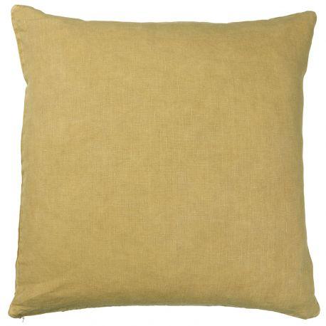 Poszewka na poduszkę musztardowa 50 x 50 cm - Ib Laursen