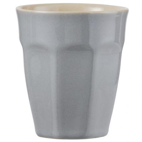 Kubek ceramiczny MYNTE mały, szary - Ib Laursen
