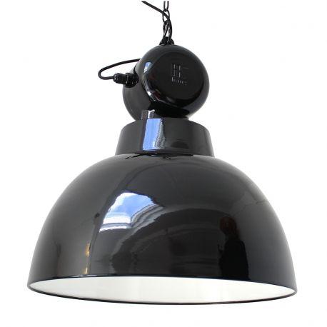 Lampa FACTORY M, czarna - HK living