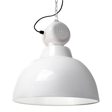 Lampa FACTORY L, biała