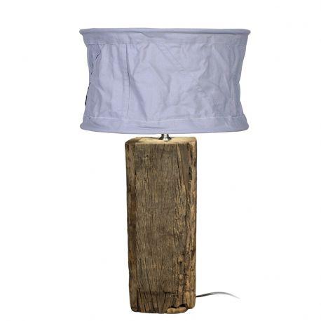 Podstawa do lampy, drewniana mała - HK living