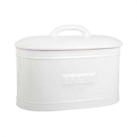 Chlebak ceramiczny, biały