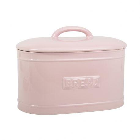 Chlebak ceramiczny, różowy