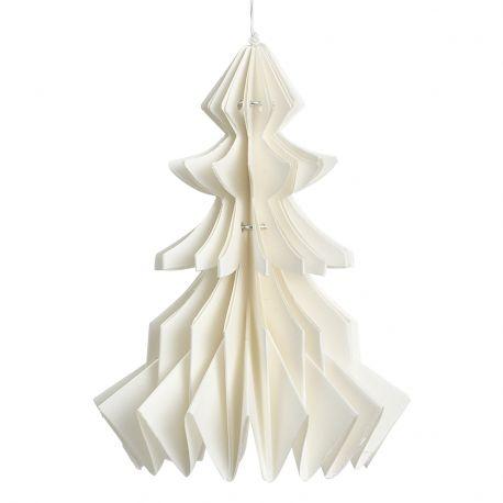 Ozdoba świąteczna CHOINKA z papieru -
