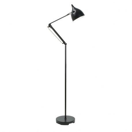 Lampa podłogowa READER czarna - Zuiver