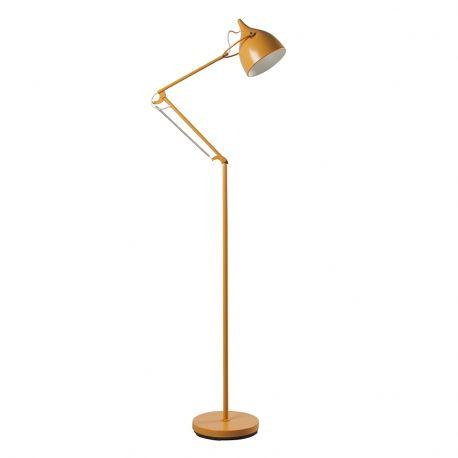 Lampa podłogowa READER żółta