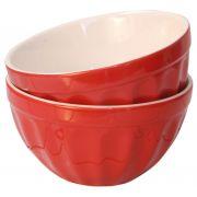 Miseczka ceramiczna MYNTE, czerwona