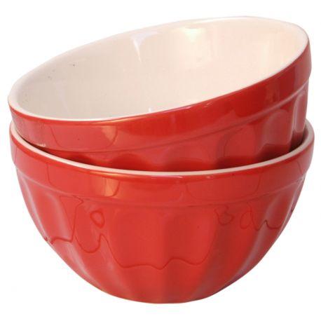 Miseczka ceramiczna MYNTE, czerwona - Ib Laursen