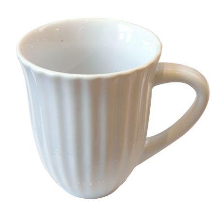 Kubek ceramiczny MYNTE, biały - Ib Laursen