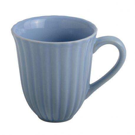 Kubek ceramiczny MYNTE, niebieski - Ib Laursen