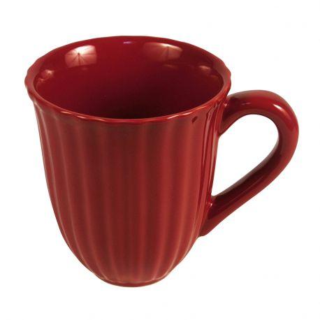 Kubek ceramiczny MYNTE, czerwony - Ib Laursen