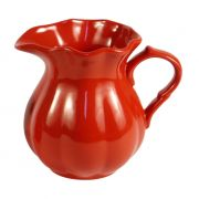 Dzbanuszek ceramiczny MYNTE, czerwony