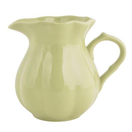 Dzbanuszek ceramiczny MYNTE, jasno zielony