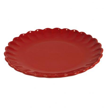 Talerzyk okrągły MYNTE, czerwony