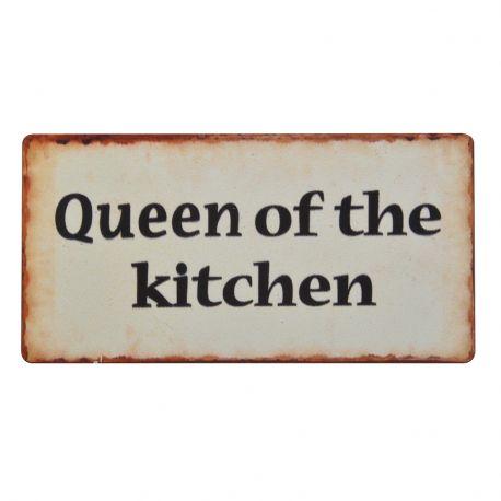 Tabliczka magnetyczna QUEEN OF THE KITCHEN  - Ib Laursen