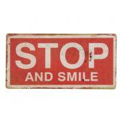 Tabliczka magnetyczna STOP AND SMILE