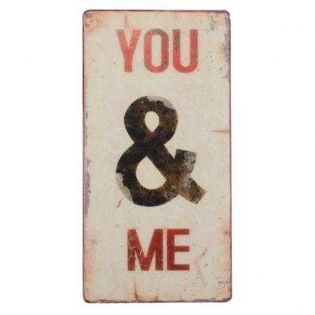 Tabliczka magnetyczna YOU & ME