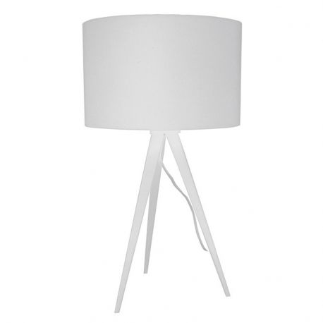 Lampa stołowa TRIPOD, biała